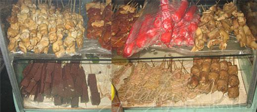 Grilled Pork's Blood (a.k.a. Betamax) | www.thepeachkitchen.com