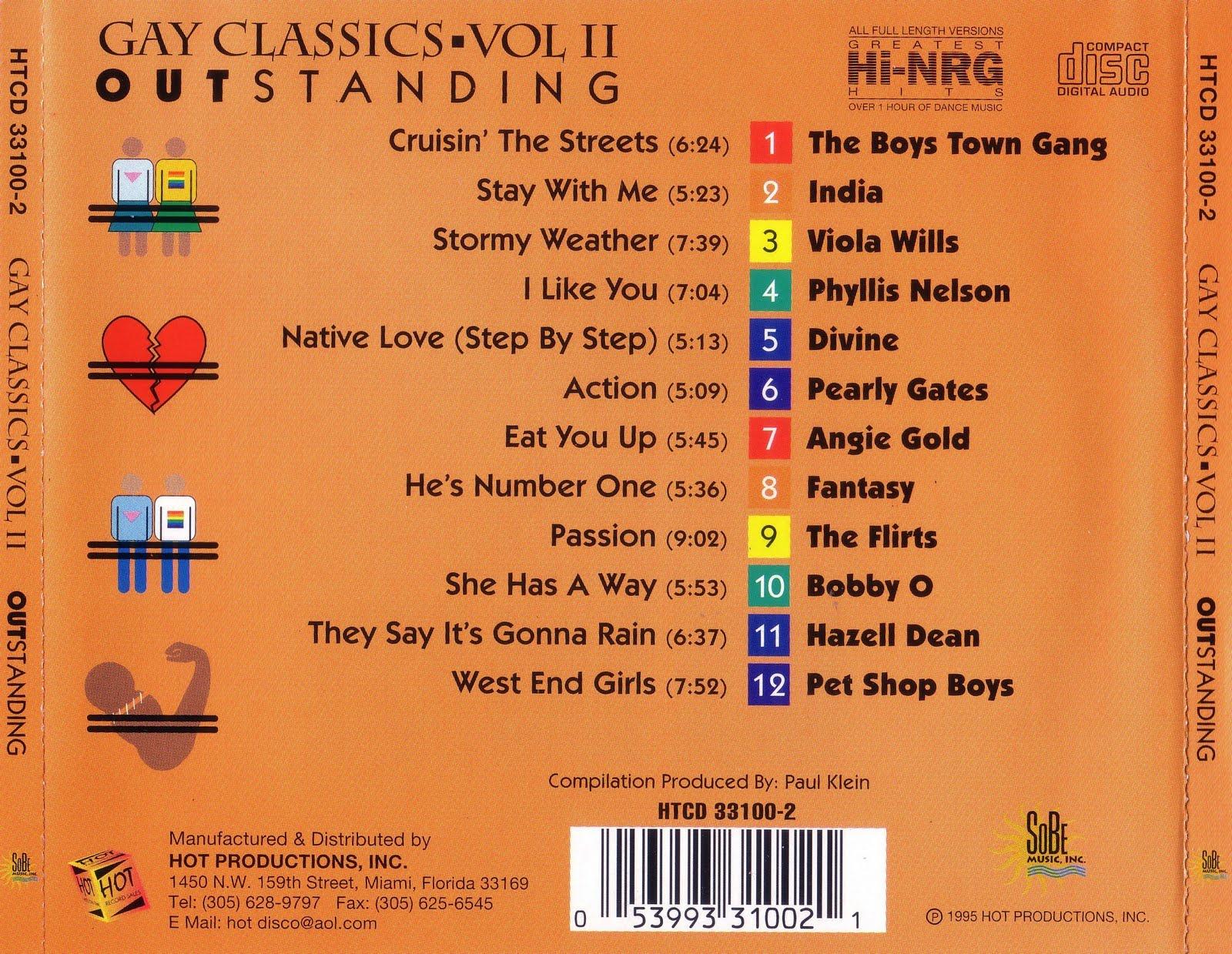 Gay Classics Mega Mix - Volume 1 - mp3 buy, full