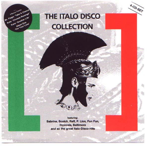 RETRO DISCO HI-NRG: Italo Disco Collection [x4CD BOX SET