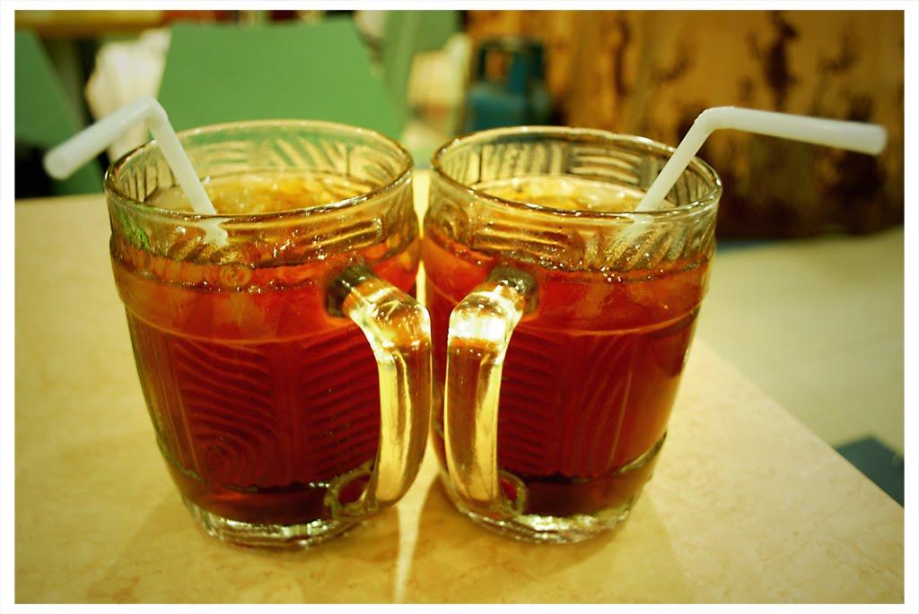 Sebuah Gambar Berjuta Cerita Teh Obeng  Es teh manis
