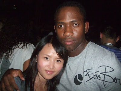 Asian girl dating black guy