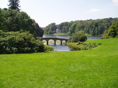 Stourhead foot bridge