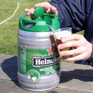 Heineken Mini Keg Fuel Tank