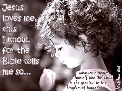 Yes Jesus Loves Me Bible Tells Me So