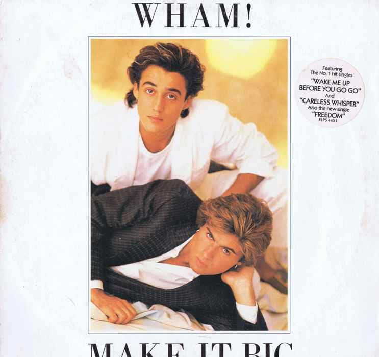 My Music Movies And Mutterings Music 85 Wham Make It