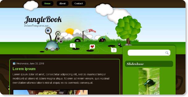 Jungle-Book-Blogspot-Template