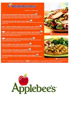 Applebees weight watchers menu 2018 blog dandk for Olive garden veterans day menu 2017