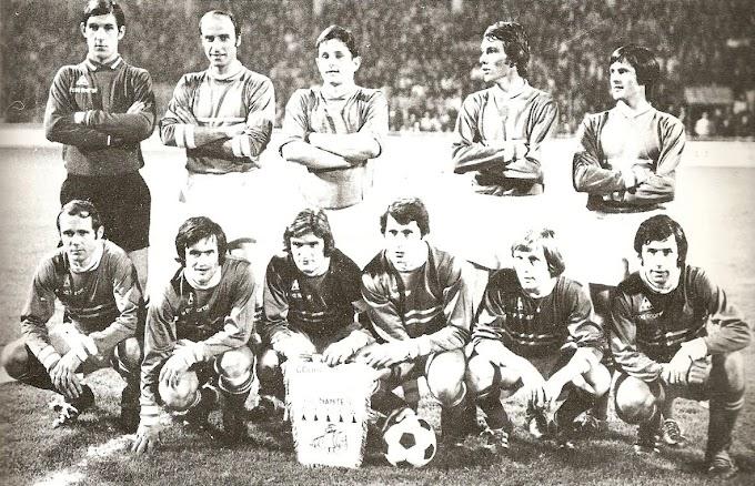 F.C NANTES 1971-72.
