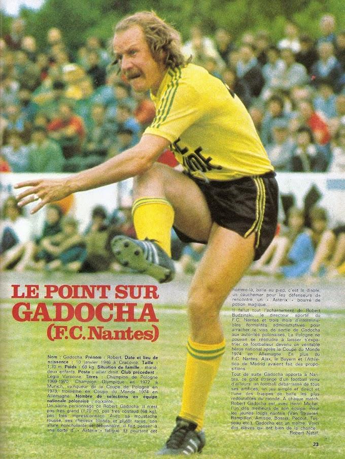 FOCUS ON. Robert Gadocha.