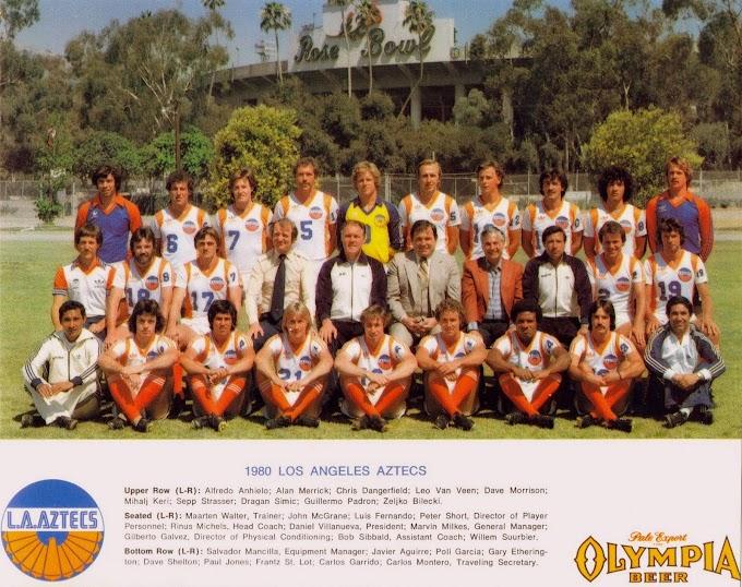 LOS ANGELES AZTECS 1980.