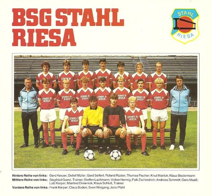 B.S.G STAHL RIESA 1978-79.