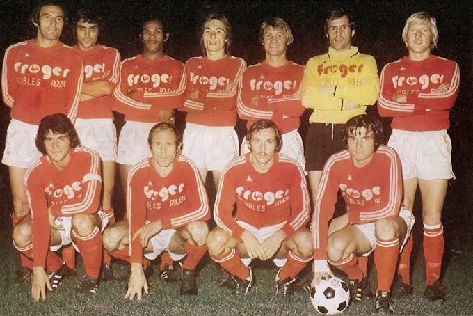 F.C ROUEN 1975-76.