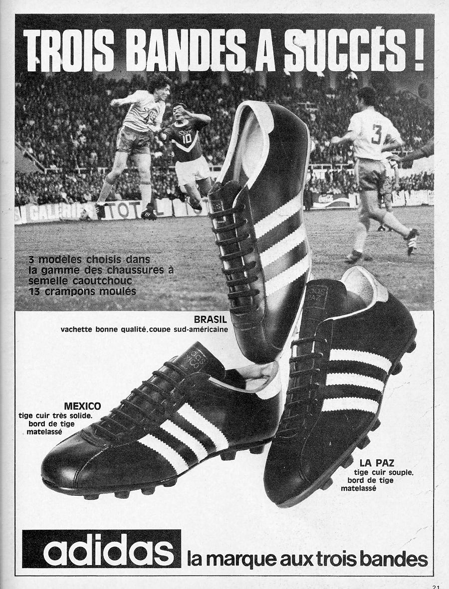 chaussures de foot adidas vintage