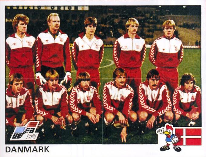 DANEMARK 1984. By Panini.