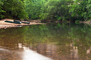 Canoeing the Buffalo River