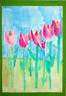Geliefde Tekenen en zo: Tulpen; de lente komt! @FU35