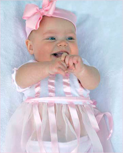 Little Giraffe - Newborn Baby Girls, Sleeveless Dress, Pink with Hearts Embroidered Velvet Patch, and Satin Skirt, Jersey Top % Cotton, Satin Skirt 52% Acetate, 48% Rayon, Made I.