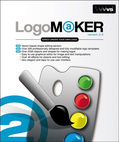 utilitaires windows logo maker 2 0 creer tes propres logos bureautique. Black Bedroom Furniture Sets. Home Design Ideas