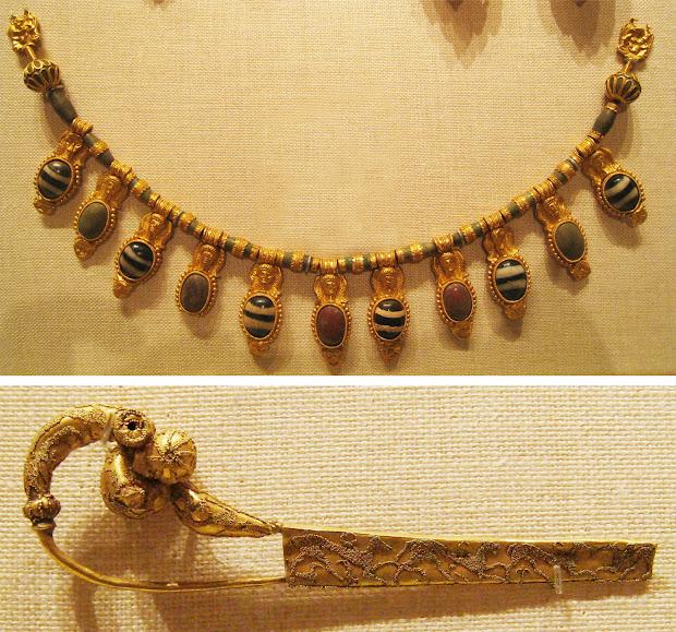 Gemagenta Ancient Etruscan Jewelry Met Museum