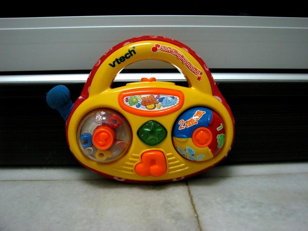 Kiddy Parlour Sold Gallery: Vtech Soft Singing Radio