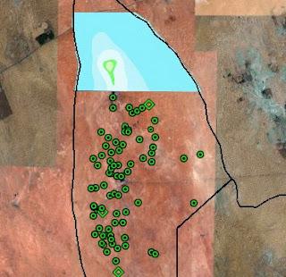 Satellite o'er the Desert: January 2008