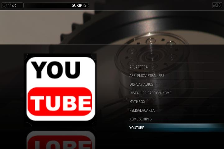 Plugin YOUTUBE 4.4.1 XBMC