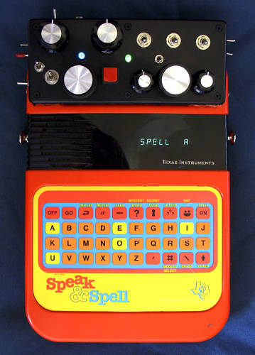 matrixsynth circuit bent speak and spell vintage glitch synth w lfo rh matrixsynth com