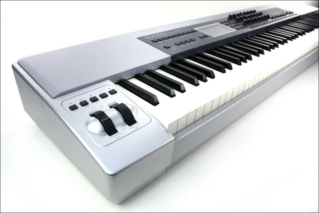 matrixsynth b m audio keystation pro 88 key midi controller. Black Bedroom Furniture Sets. Home Design Ideas