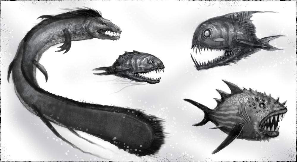 Monster Fisch