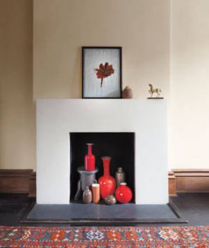 creative space: fireplaces without fire.