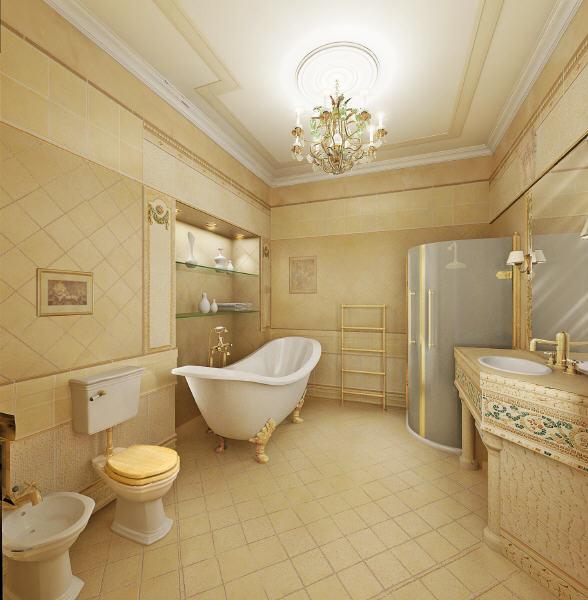 Home Design: Classic Bathroom