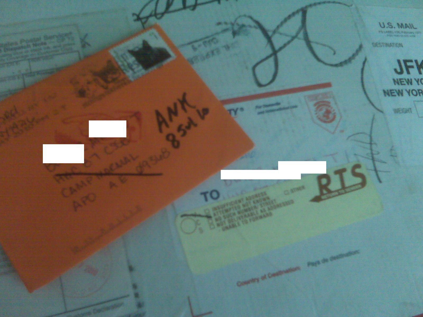 interior home how to write a mailing address