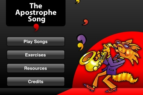 SCC ENGLISH: The Apostrophe Song App