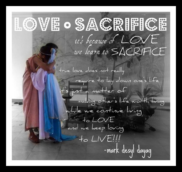 Photoquotes: Love And Sacrifice