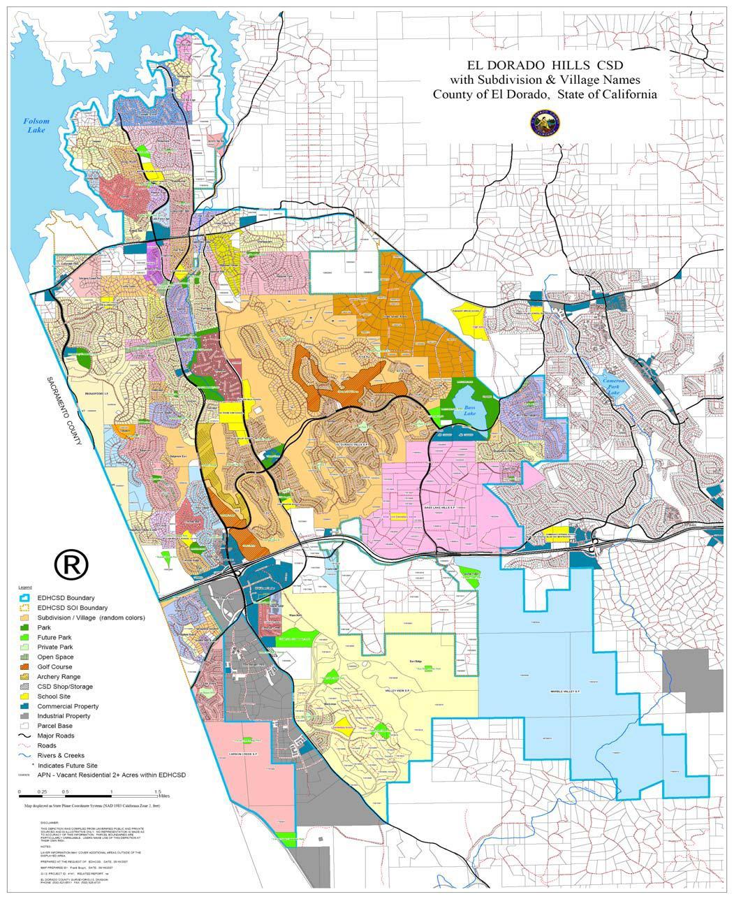 GIS Maps Search - El Dorado County, CA (Data, Parcel & Tax