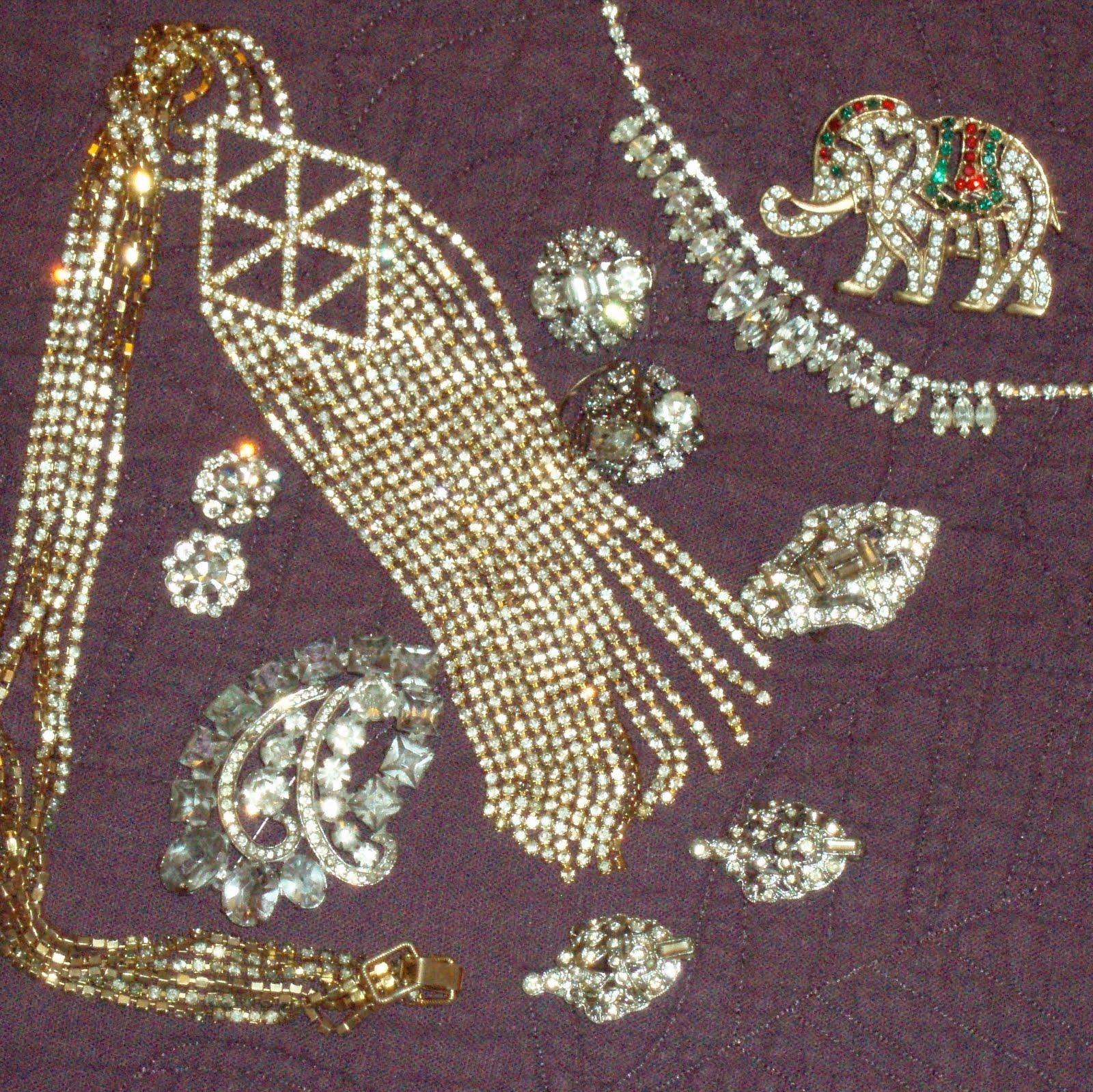 How To Clean Vintage Rhinestone Jewelry 108