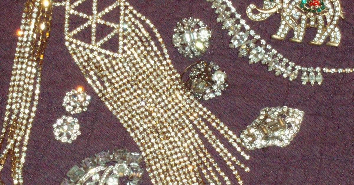 How To Clean Vintage Rhinestone Jewelry 72