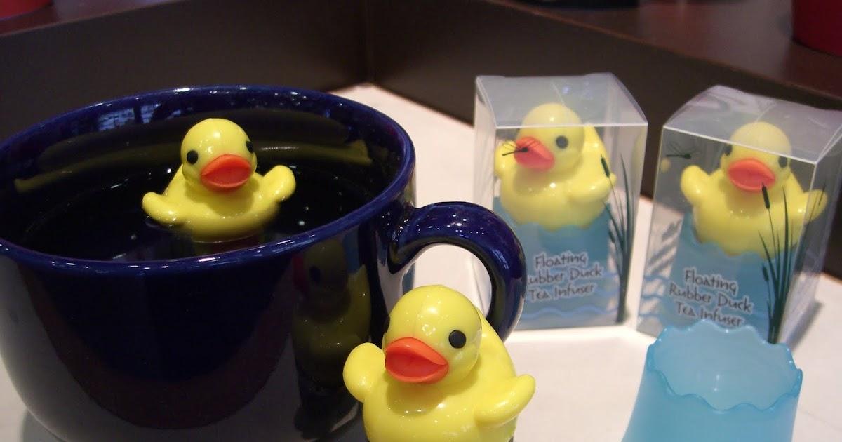 The Perennial Tea Room Rubber Duck Tea Infuser
