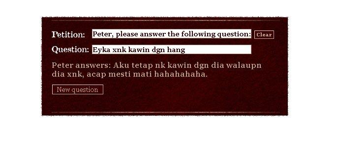 peter pls answer