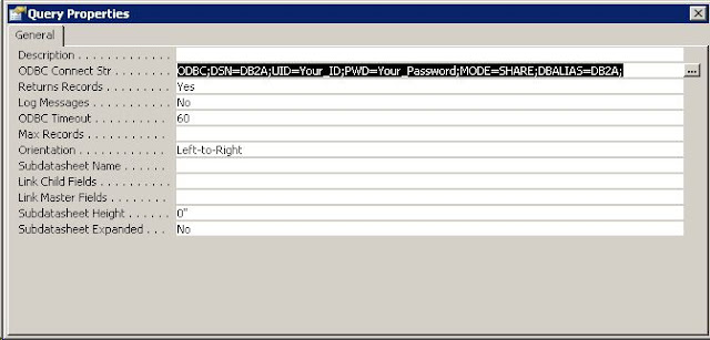 VBA Buff: How To Build ODBC Connection String