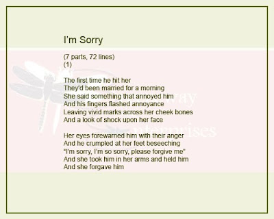 relationship apology poems for friends