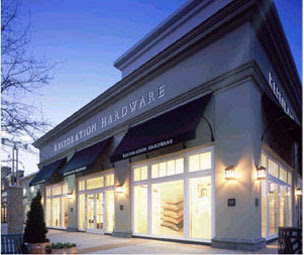 """Restoration Hardware sends all their damaged items to one of their 17 outlets across the United States and Canada. Their qualifications for """"damaged"""" can be liberal — it can mean a missing tag, a microscopic cushion tear or small nick."""