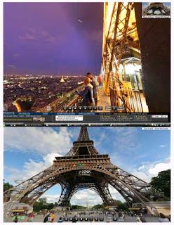 Torre Eiffel Paris em 3D