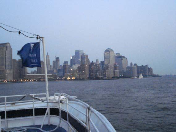 Jantar romantico em Nova York: cruzeiro no Rio Hudson