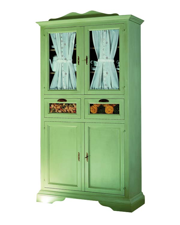 Fauna decorativa muebles restaurados para la cocina restored furniture for the kitchen - Alacenas vintage ...