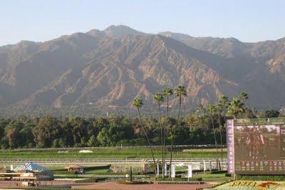 East Of Allen San Gabriel Mountains From Santa Anita