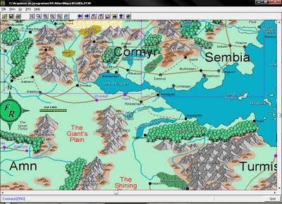 Dragão Banguela: Downloads: Forgotten Realms Interactive Atlas