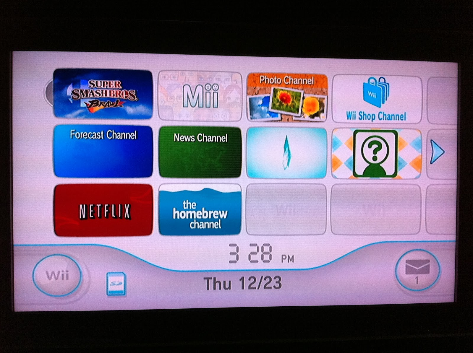 Dad-Geek-Gamer: In That Order: Hack your Wii, even if you've updated