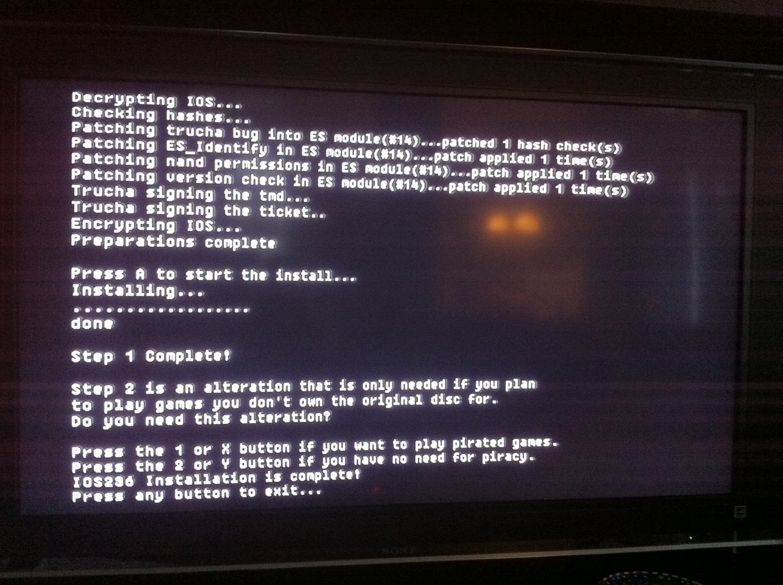 Dad-Geek-Gamer: In That Order: Hack your Wii, even if you've