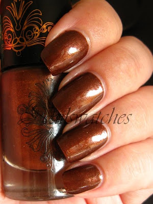 catrice caramé carame limited edition brown bronzed brown nailswatches shimmer